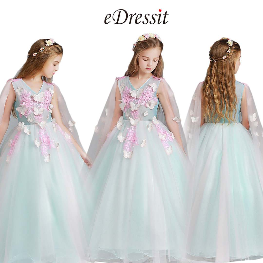 8b6404356 With princess skirt, such dresses are attractive. Just as you can see,  exquisite flower girl dresses are impressive for wedding, prom and perform.
